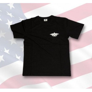 "T-shirt "" stars and stripes "" noir."