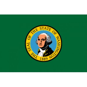 Drapeau de l'ETAT DE WASHINGTON