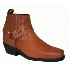 Bottines modèle SANTA FE BJ9190 brun