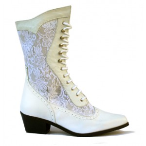 Bottes CATHEDRALE WHITE